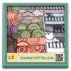 Flocage de Sofa Fabric avec Colorful Ground