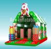 Gorila inflable de la Navidad