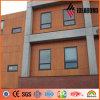 Painéis compostos de alumínio do revestimento de madeira da alta qualidade com espessura de 3mm/4mm/5mm