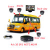 All Kinds of Vehicle With GPS TrackerのためのベストセラーH. 264 Highquality 3G School Bus SD Mobile DVR