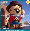 Nach Maß Advertizing Inflatable Cowboy Cartoon Model für Malls/Kids
