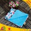 70cm*100cm Dinosaur Pattern Turquoise DOT Minky Blankets