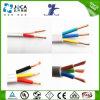 Fio elétrico preto do PVC do fio UL1007 da conexão