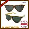 Óculos de sol de madeira de bambu por atacado Fx162 de China da qualidade superior