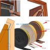 Selbstklebendes Foam Rubber Seal Strip für Door Window