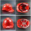 안전 장치 배출된 PE 쉘 안전 헬멧 (SH501)