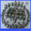 Vário Sizes Tungsten Carbide Mining Bits Tips com Fine Grinding