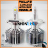 Diodo emissor de luz Headlight a Philips do diodo emissor de luz Car Headlight Kit 3000lm H4