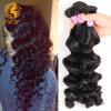 I capelli allentati peruviani del Virgin dell'onda dei prodotti per i capelli del Virgin 8A 3 gruppi slacciano l'onda allentata dei capelli peruviani ricci del Virgin