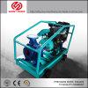 8inch de diesel Pomp van het Water voor LandbouwIrrigatie met Vierwielige Aanhangwagen