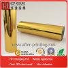 Clinquant de estampillage chaud de textile d'or glacé élevé