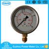 indicateur de pression de double échelle de cadran de 60mm Wika En837-1 avec le pétrole