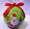 10cm-20cm Styrofoam Christmas Decoration Baubles; La Navidad Balls con el LED; Decoración de la Navidad