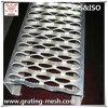 Plat Checkered/antidérapant de quadrillage en aluminium pour des bandes de roulement d'escalier