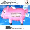 Reizender netter rosafarbener Schwein-Ballon, Luft-Ballon bekanntmachend (Bmbb