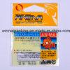 Printed feito sob encomenda Plastic Hang Card Bag para Nicknack