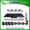 4CH Waterproof Camera Kit CCTV Surveillance System (BE-9604H4CD)
