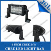 24W 12V/24V CREE LED Machine Work Light Bar
