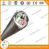 cabo distribuidor de corrente blindado da fita da liga do condutor da liga de alumínio de 600V 4AWG