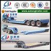 2/3/4 Aanhangwagen Van uitstekende kwaliteit van de Vrachtwagen van de Band van de Aanhangwagen Lowbed van Assen Semi Concave Straal Blootgestelde