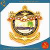 Moneda antigua del recuerdo de la insignia 3D de la marina