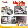 7D en mouvement Theater Cinema, 7D Truck Cinema, Flexible 9d Theater