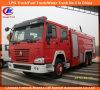 De Vrachtwagen van de Sproeier van de Brand van het Schuim van het Water van Sinotruk HOWO 6X4 266HP van Cnhtc