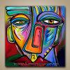 Schilderen van het Pop-art van 100% het Met de hand geschilderde Abstracte Eigentijdse Moderne (klsjpa-0005)