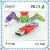 2014年の昇進の顧客のロゴUSBのフラッシュ・メモリの棒の旋回装置USBのフラッシュ駆動機構