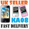 쿼드 악대 이중 SIM 이동 전화 (KA08)