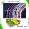 6mm Colored pp Twist Rope per Bag Handling