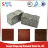 Segments de diamant de découpage de pierre de bonne qualité