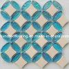 Mosaico de cerámica de la mezcla de cristal del azulejo de Backsplash (HGM323)