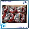 La fibre flexible rouge d'OIN 2398 de la CE tressée a renforcé les tuyaux d'air en caoutchouc de compresseur de 10mm