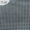 Balck e White Woven Check Sofa Fabric