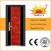 低価格の中国の鋼鉄機密保護のドア(SC-S103)