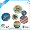 Divisa redonda del botón del metal del Pin de la seguridad promocional