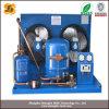 Unidad de condensación refrescada aire del congelador de ráfaga con el compresor hermético