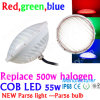 IP68 Waterproopf Plstic PAR56 LED 의 500W 보충 12V 20W 36W 50W PAR56 LED 수영장 빛