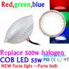 IP68 Waterproopf Plstic PAR56 LED, 500W indicatori luminosi del raggruppamento del rimontaggio 12V 20W 36W 50W PAR56 LED