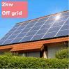 Het Systeem van Soalr van de Zonne-energie 2kw van China