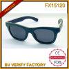 [فإكس15120] نظّارات شمس خشبيّة مع دخان عدسة