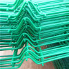 녹색 분말 입히는 삼각형 구부리는 담