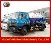 Vrachtwagen van de Zuiging van Dongfeng 10000L de Vacuüm