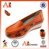 Изготовление повелительницы ботинок кожаный ботинок женщины