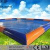 Metallfeld-Innen- u. im Freienaufblasbares über Grundpool