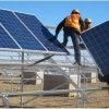 Colorer la bride solaire de toit en acier de picovolte