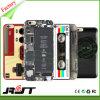 Sujetar con cinta adhesiva la caja suave del teléfono móvil del iPhone 5s TPU del diseño (RJT-0110)