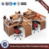 L形の木の家具のオフィスの区分ワークステーション(HX-NJ5113)