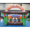 Outdoor Beach Inflatable Shooting Game / 0.55m PVC Inflatable Sport Games